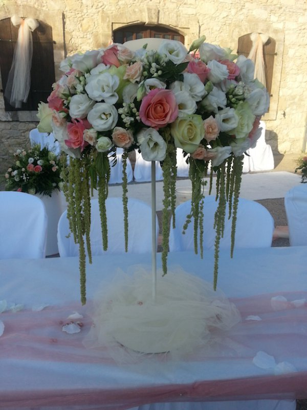 Civil Wedding - Table Arrangements - Annivia Gardens in